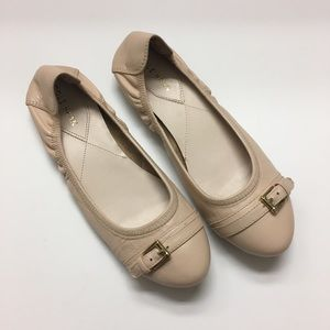 """Cole Haan """"Palaria"""" ballet flats nude leather"""
